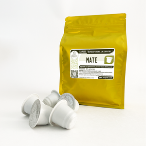 Mate tea pods for nespresso brewers originalline compatible