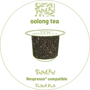 Oolong tea pods for nespresso brewers originalline compatible