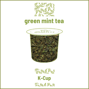 Moroccan Mint Green tea pods K-Cup® compatible K-Cup® tea pods Tea Boquete