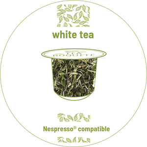 White tea Nespresso® compatible Tea pods Nespresso® compatible Tea Boquete
