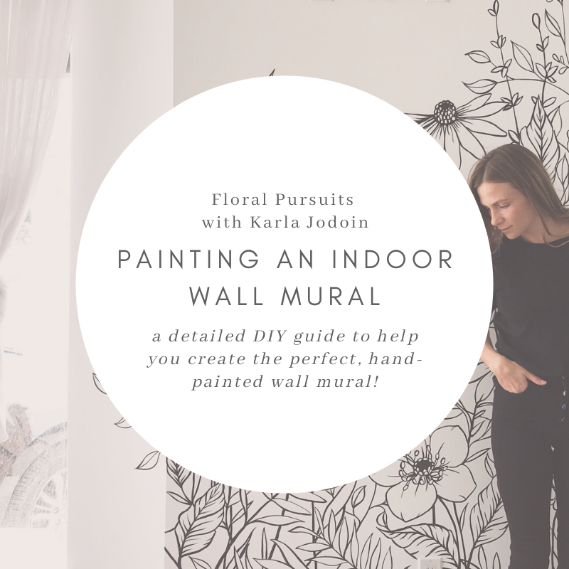 Mural Guide: DIY guide to help you create the perfect, hand-painted wall mural!
