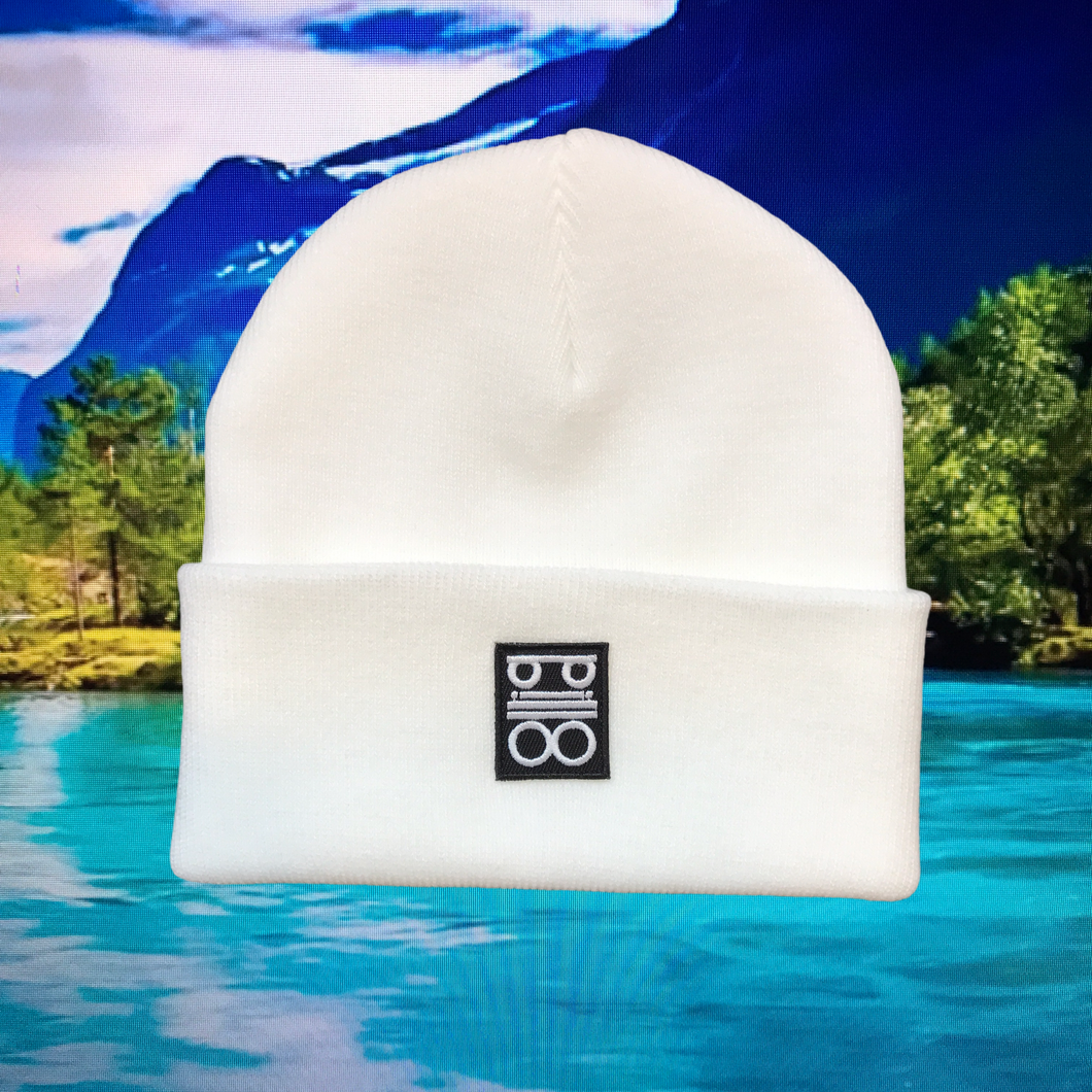 pillo beanie white
