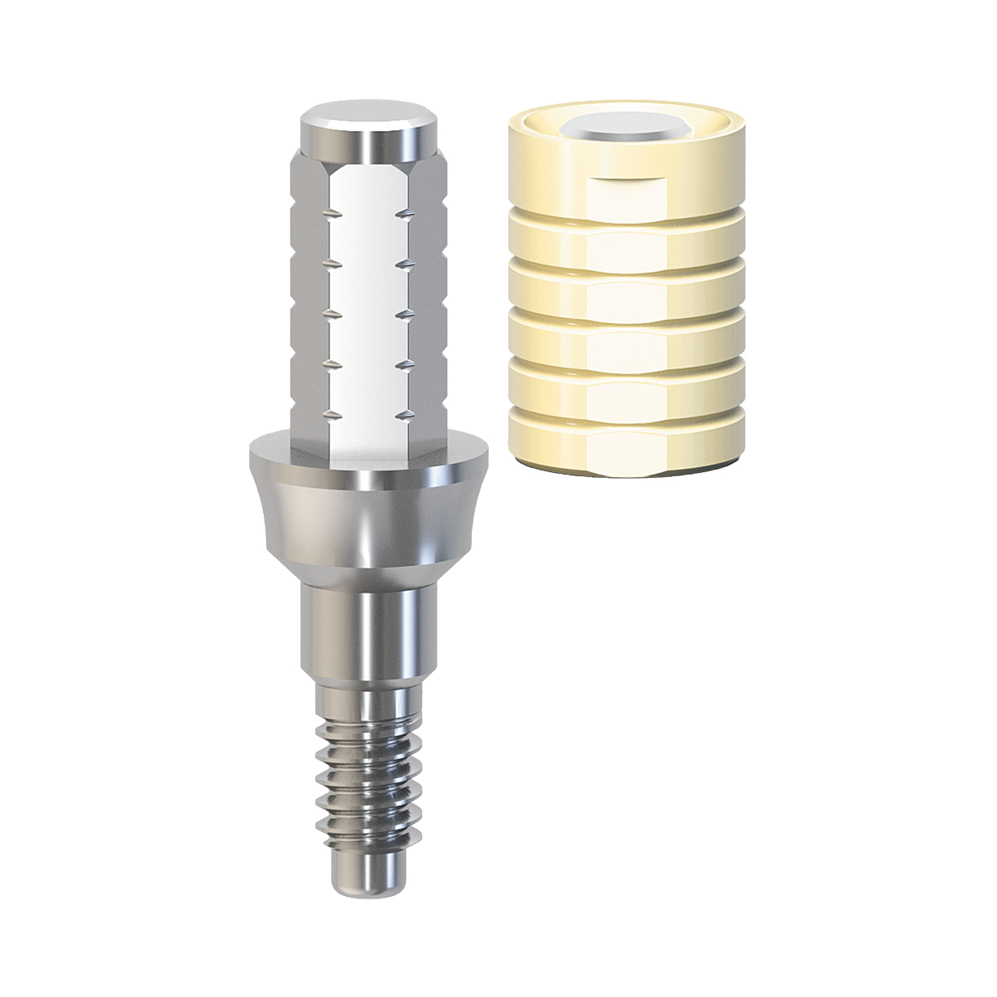 Immediate Titanium Temporary Abutment NP 1.5mm | K2