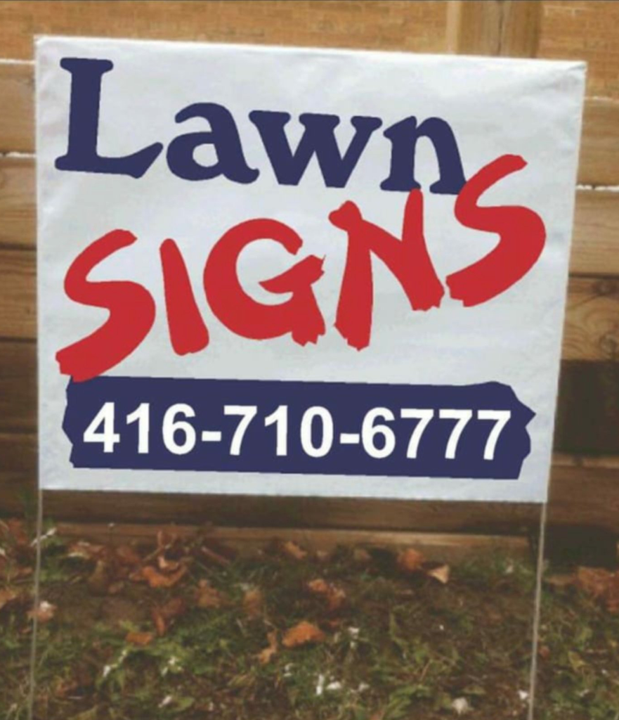 Lawnsigns/padspromo