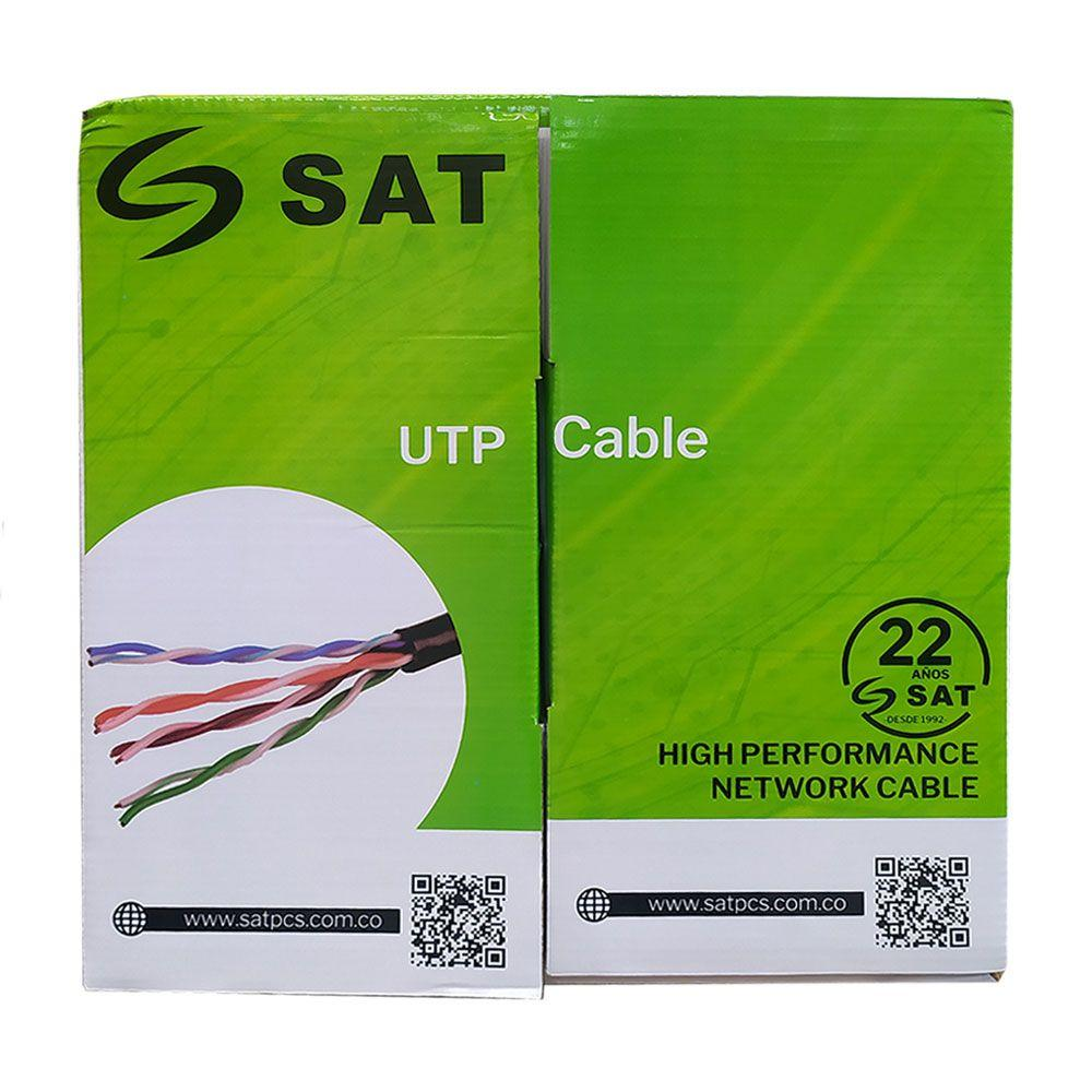 CABLE UTP SAT CAT5E PURO COBRE 0.5MM