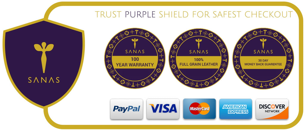 SANAS PURPLE SHIELD