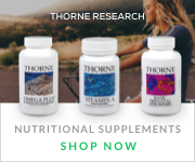 THORNE RESEARCH - HIGH PERFORMANCE/TOP AHLETE SUPPLEMENTS