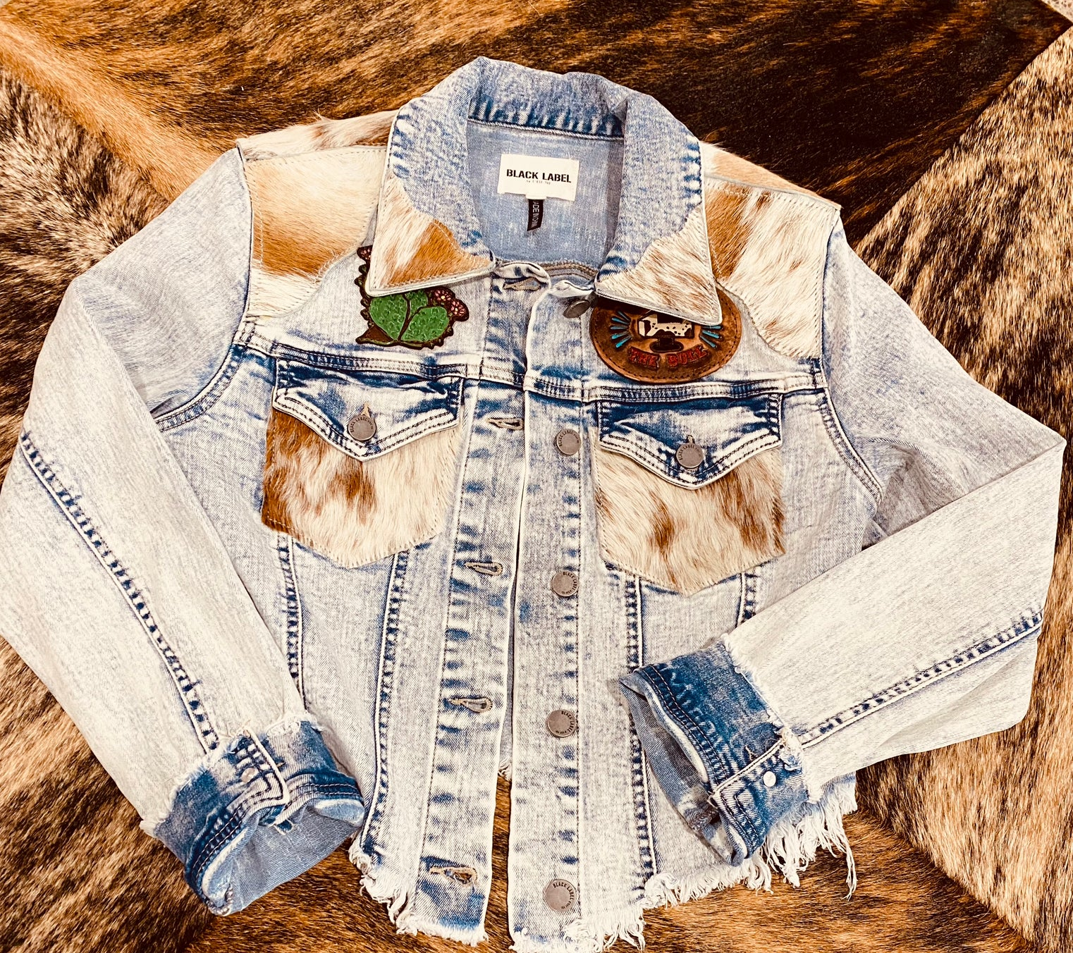 Longhorn Denim Jacket
