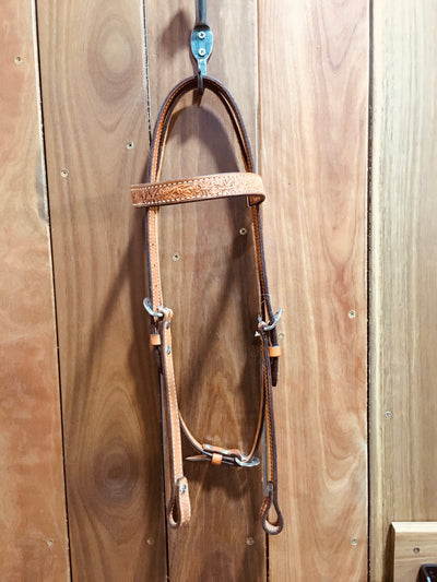 Tooled Bridle