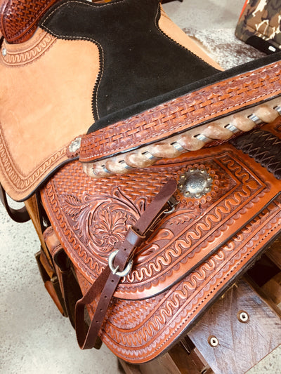 Courts Roping Saddle