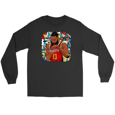 "James Harden ""Tune Squad"" Long Sleeve Tee"