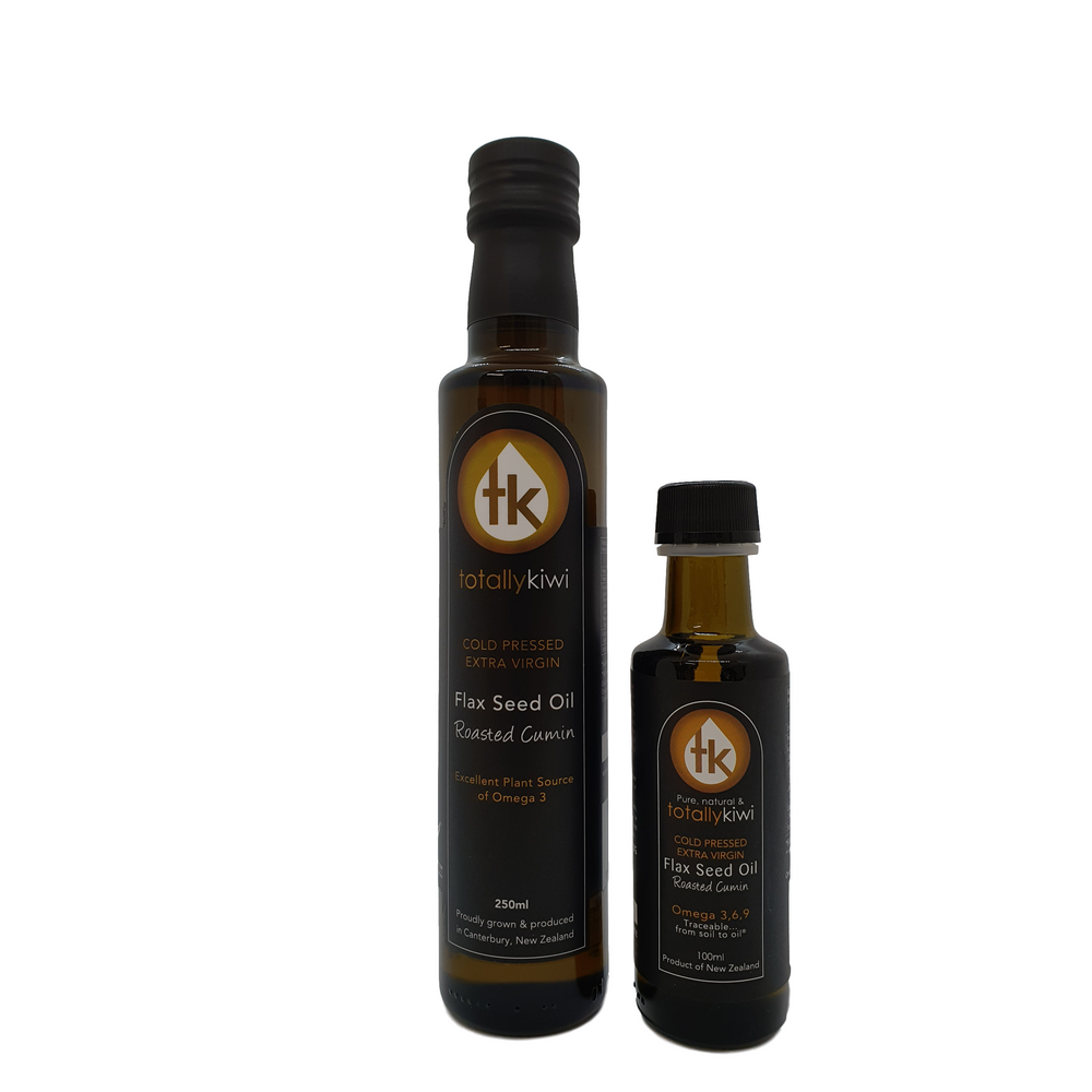 Roasted Cumin Infused Flax Seed Oil 100ml & 250ml