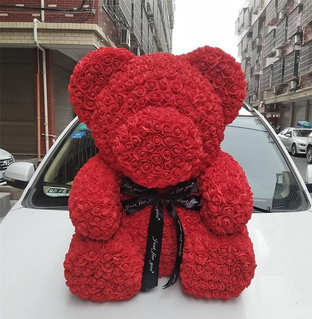 Luxury Rose Bear
