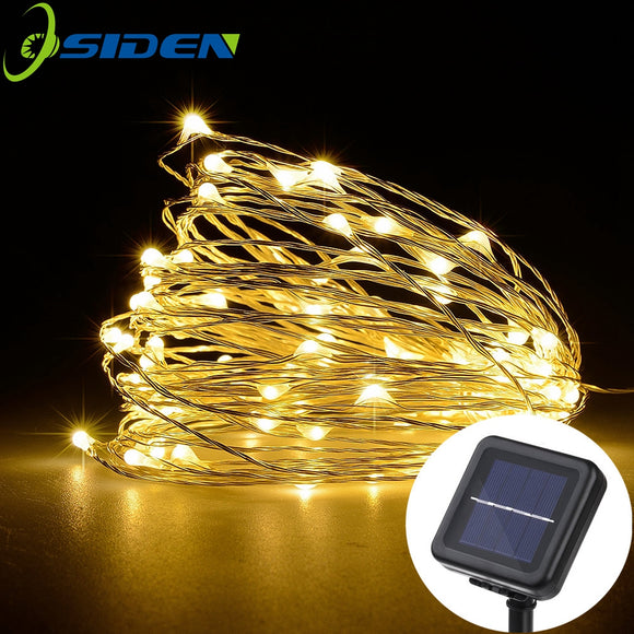 LED Solar String Garland