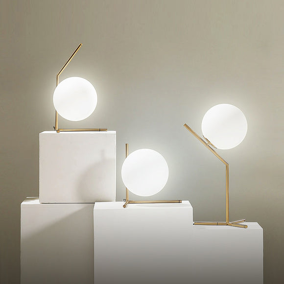 Modern Glass Table Lamps