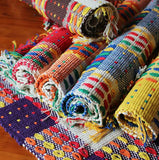 Tapestry Fringed Throw Rugs