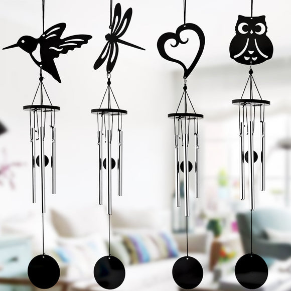 Black Metal Wind Chime