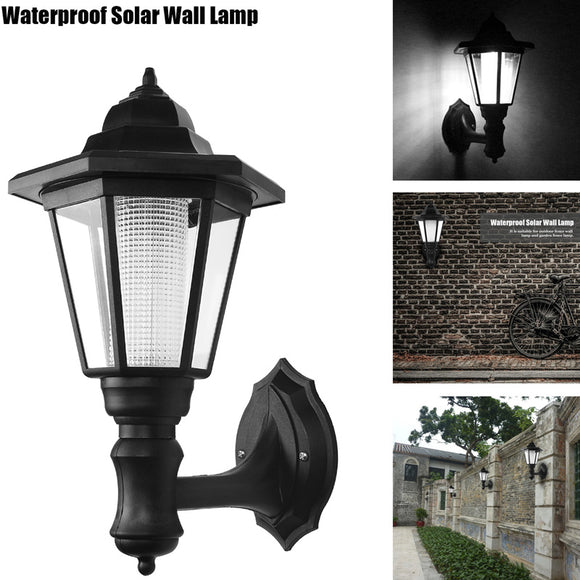 Outdoor LED Solar Power Lamp