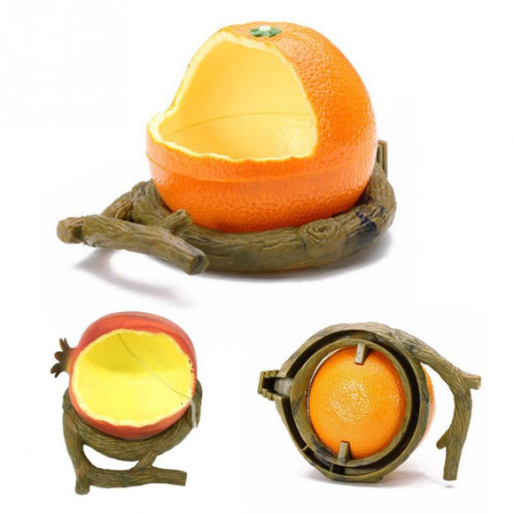 Cute Orange/ Pomegranite Shaped Birds Feeder