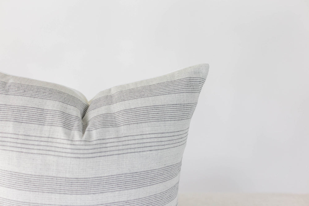 Avery Stripe Handmade Pillow Cover