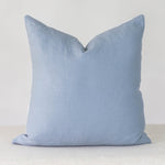 Blue Linen Handmade Pillow Cover