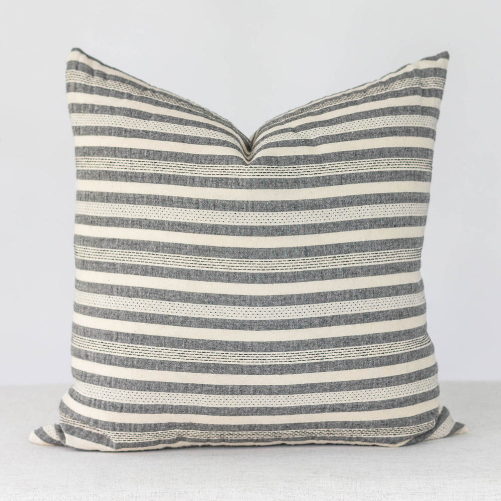 Boho Stripe Handmade Pillow Cover