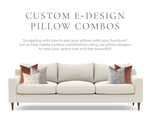Custom Pillow Cover Combo E-Design Service