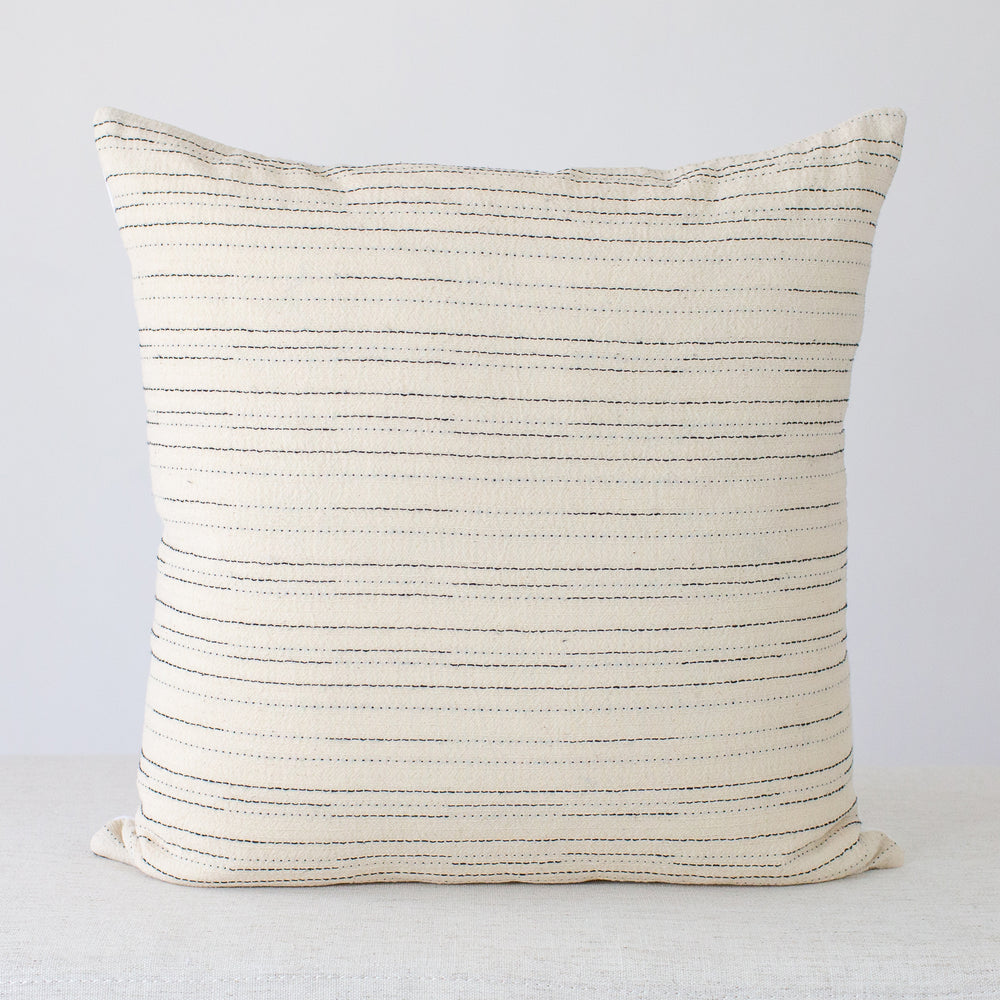 Mila Stripe Handmade Pillow Cover
