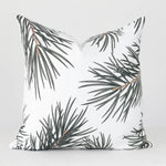 Pine Leaves Handmade Pillow Cover