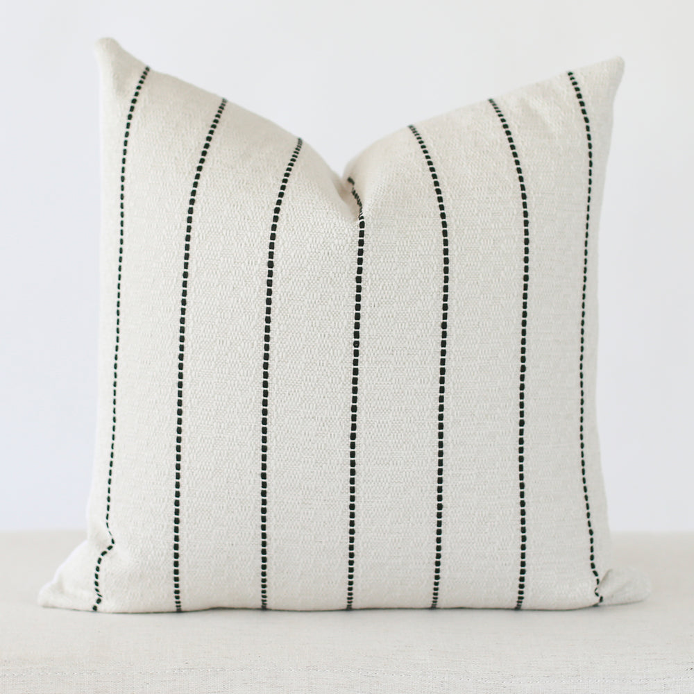 Tate Stripe Handmade Pillow Cover