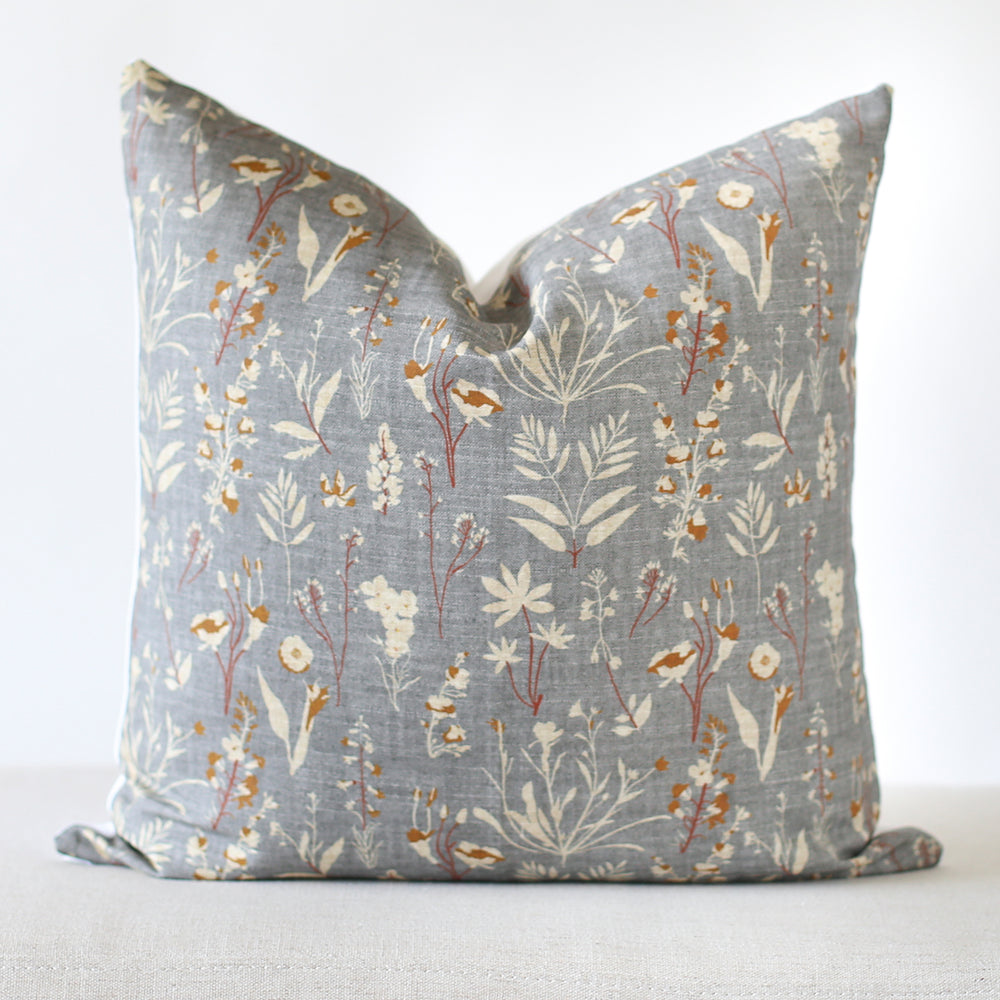 Wildflower Handmade Pillow Cover