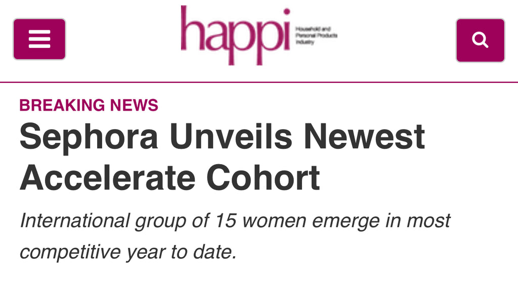 Sephora cohort 2019, female founders