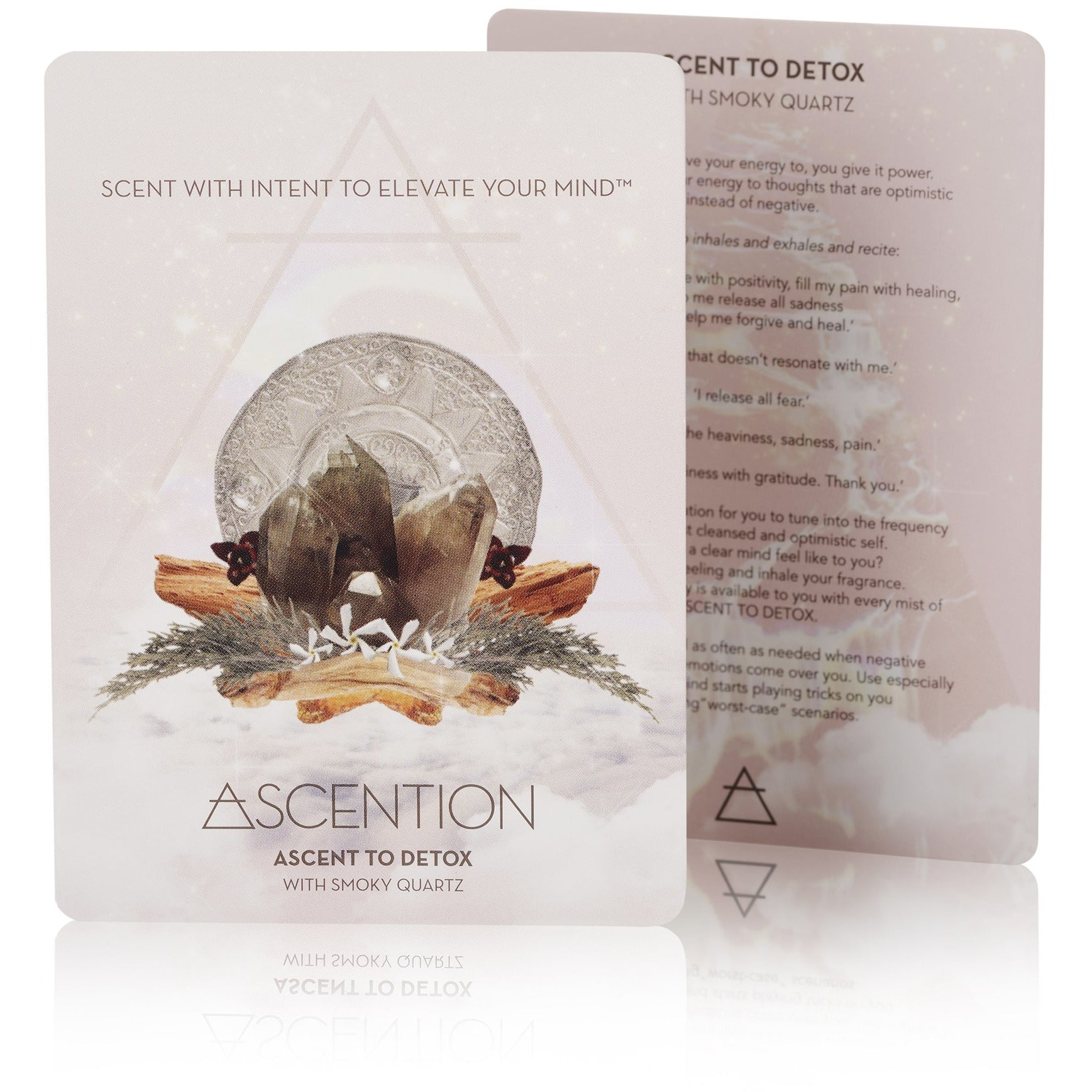 Ascent To Detox With Smoky Quartz Crystal