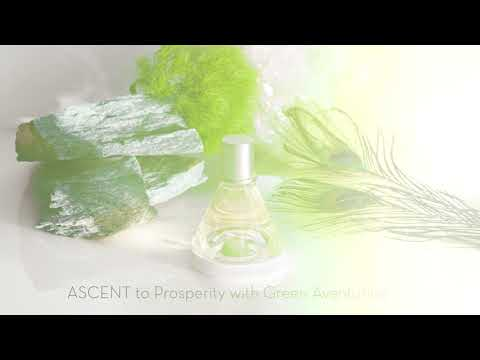 ASCENT TO PROSPERITY<br>WITH GREEN AVENTURINE CRYSTAL