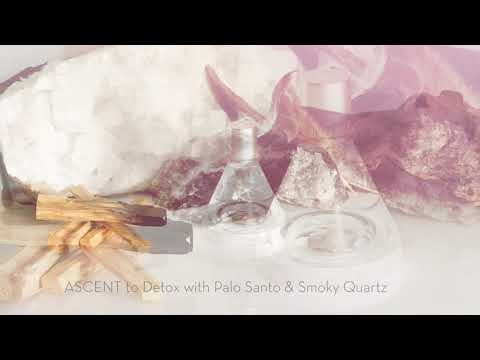 Ascent To Detox <br> With Smoky Quartz Crystal