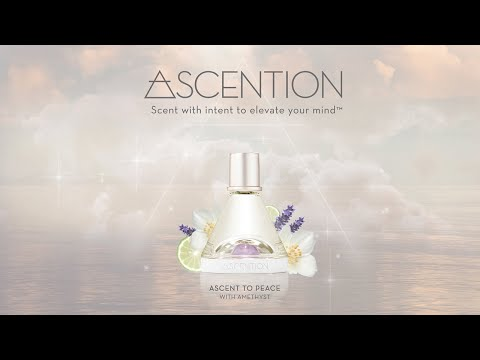 Ascent To Peace <br> With Amethyst Crystal