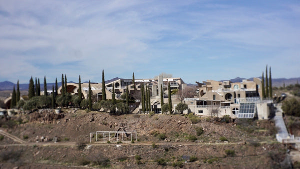 Arcosanti from the Mesa