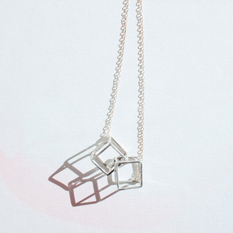 Aanoosh Cube Necklace