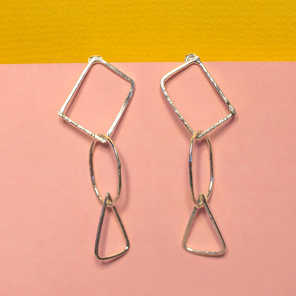 Danielle Shapes Dangle Earrings