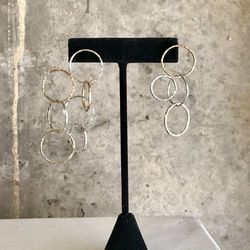 Week 3: Circle Kinetic Earrings