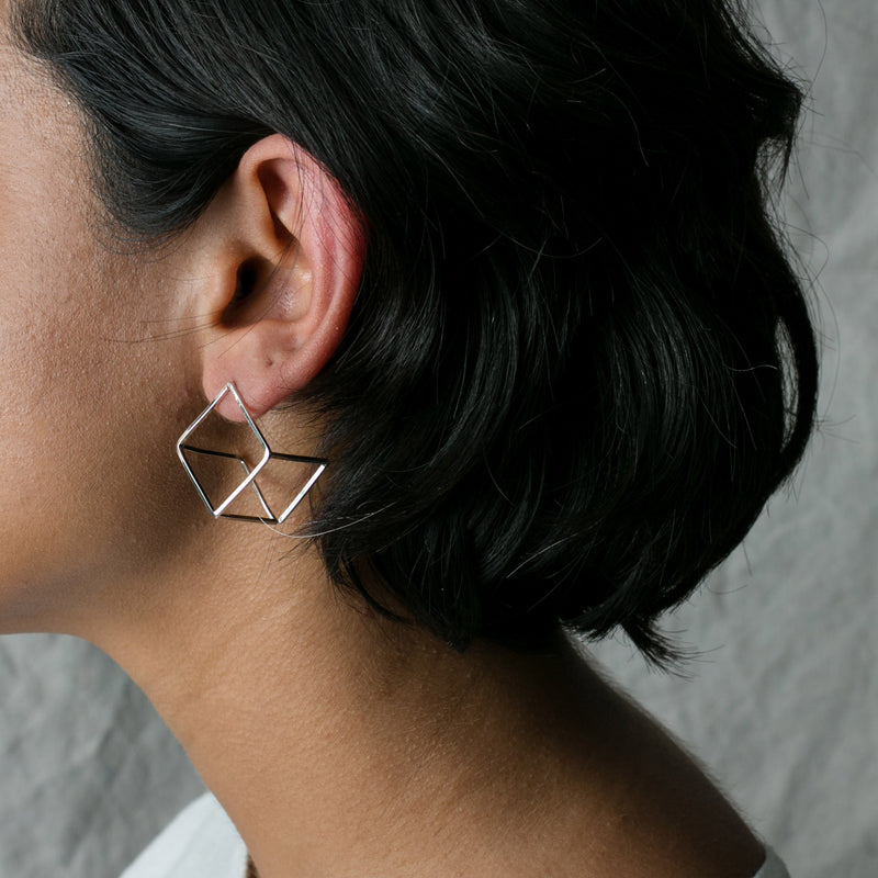 Nabi Cube Earrings