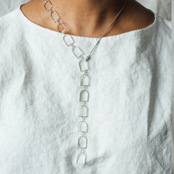 Bells of Arcosanti Lariat Necklace