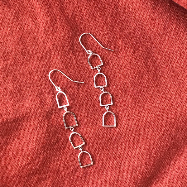 Bells of Arcosanti Short Dangle Earrings