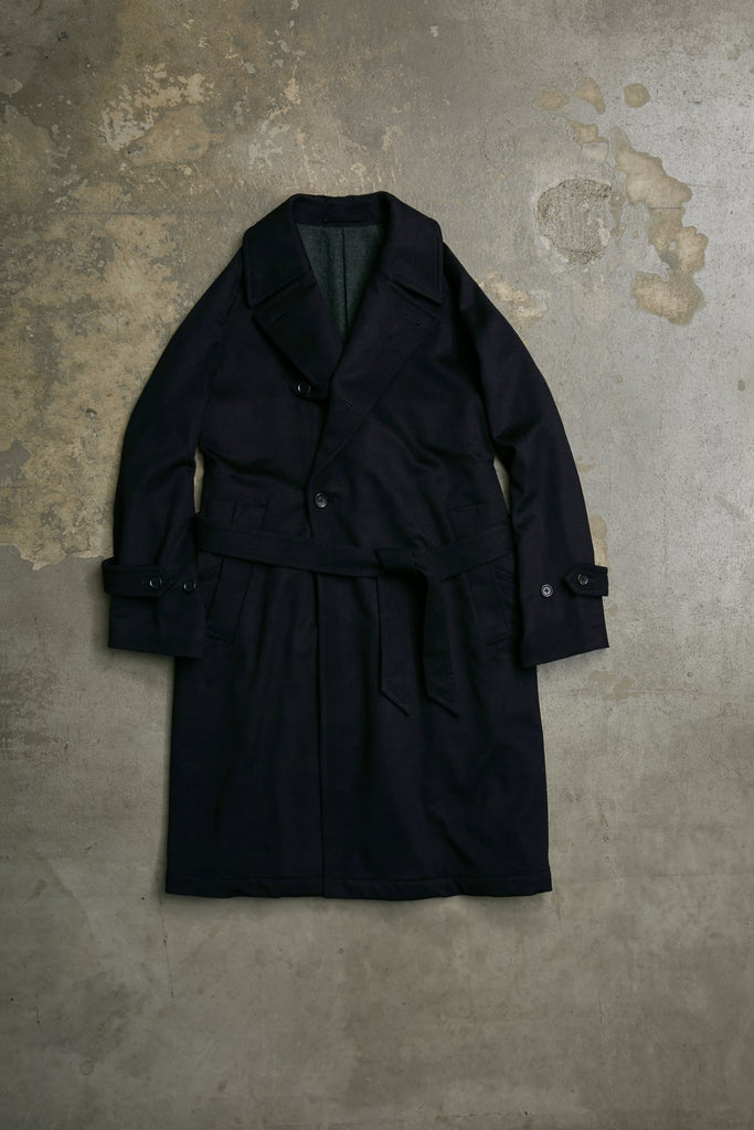 PURE CASHMERE BEAVER OVER COAT