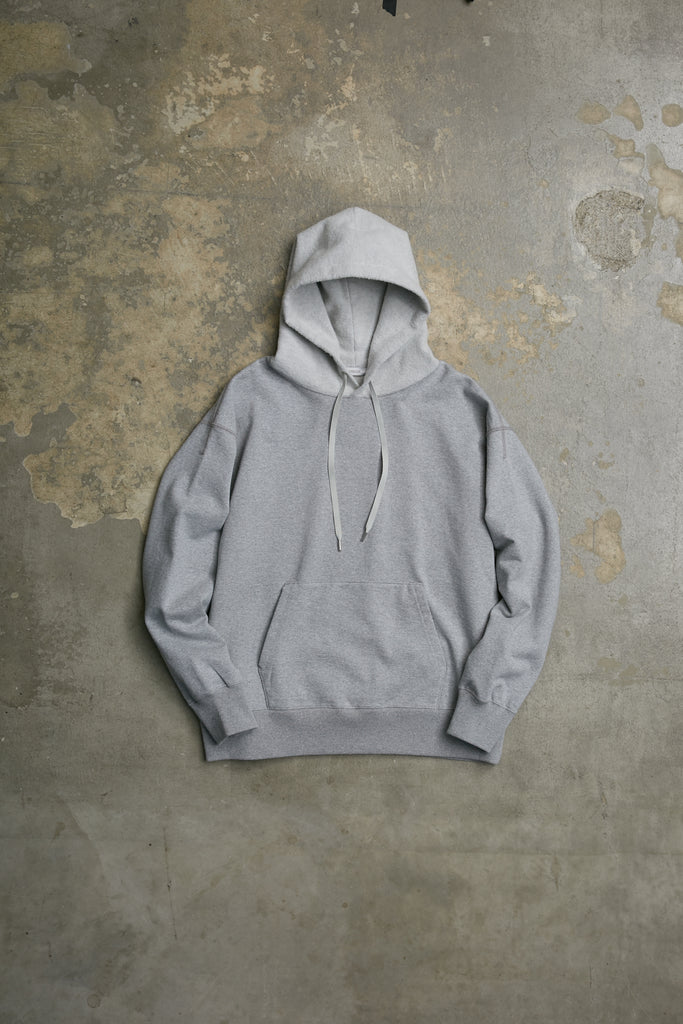 DRY FEEL COTTON/CASHMERE TERRY HOODIE