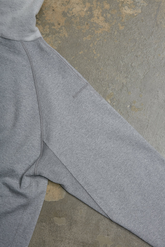 DRY FEEL COTTON/CASHMERE TERRY SWEAT SHIRT