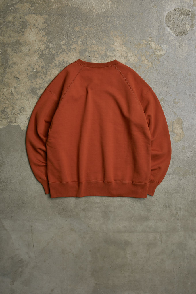 SILKY BRUSHED TERRY SWEAT SHIRT