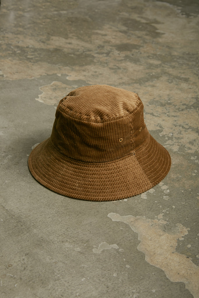 SUPIMA CORDUROY BUCKET HAT