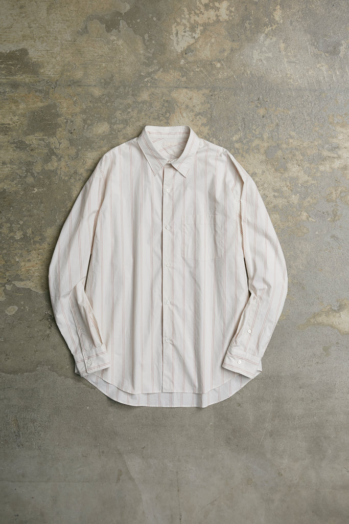 OVERLAID STANDARD STRIPE SHIRT