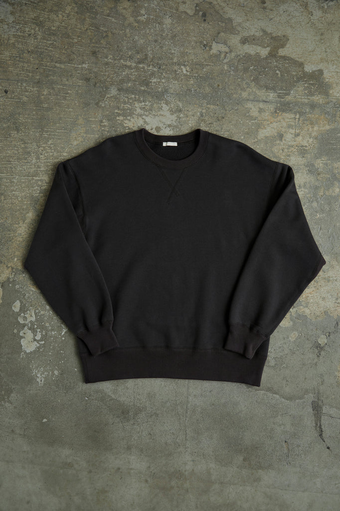 SUVIN COTTON BULKY TERRY SWEAT SHIRT